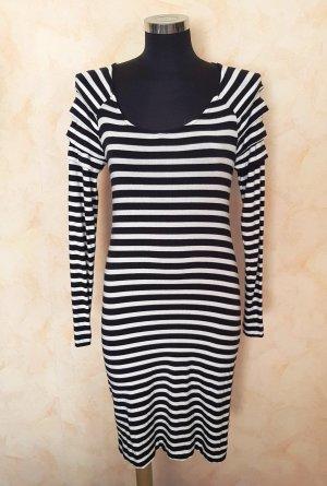 Modström Stretch jurk zwart-wit