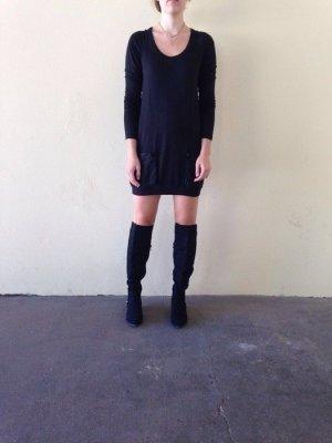 Modström Kleid mit Seiden-Elementen