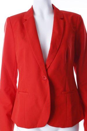 Modström Kurz-Blazer rot extravaganter Stil