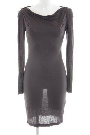 Modström Langarmkleid schwarz Elegant