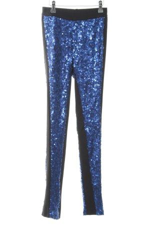 Modström Leggings schwarz-blau extravaganter Stil