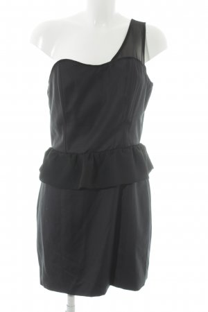 Modström One-Shoulder-Kleid schwarz Elegant