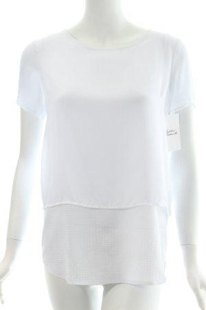 Modström Oversized Shirt weiß minimalistischer Stil