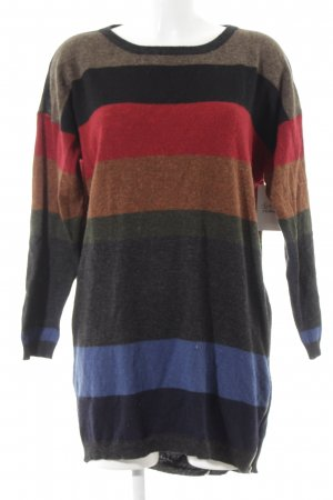 Modström Sweater Dress striped pattern casual look