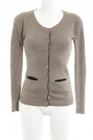 Modström Strickjacke beige Casual-Look
