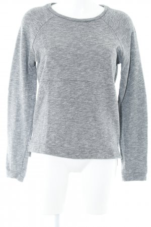 Modström Sweatshirt grau meliert Casual-Look