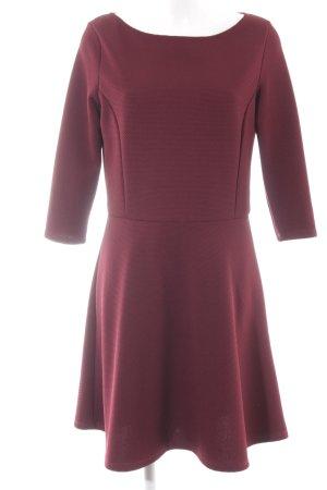 Mötivi A-Linien Kleid bordeauxrot Casual-Look