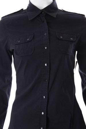Mötivi Hemd-Bluse schwarz Casual-Look