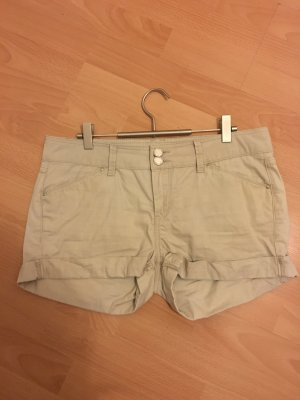 Mötivi Jeans Shorts Hotpants beige 38 S Hose Stretch