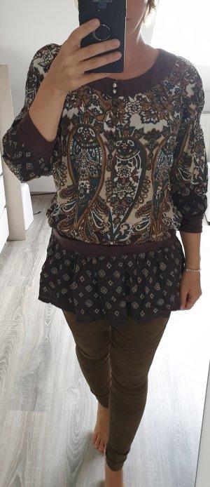 MÖTIVI Long Shirt  mit Samtdetails