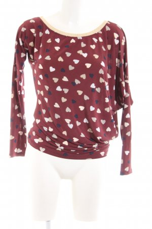 Mötivi Oversized shirt volledige print casual uitstraling