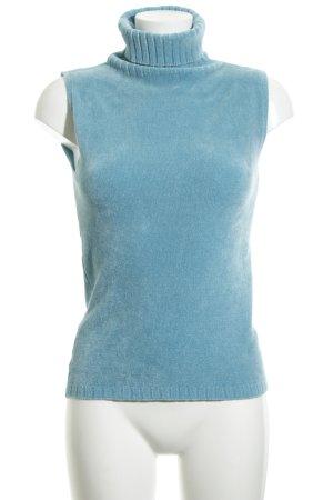 Mötivi Turtleneck Shirt turquoise casual look