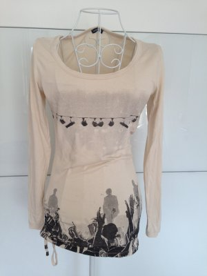 MÖTIVI Shirt Creme Long