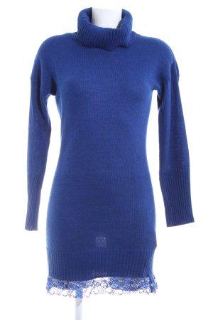 Mötivi Strickkleid blau Casual-Look