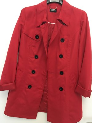 Mötivi Trench Coat red
