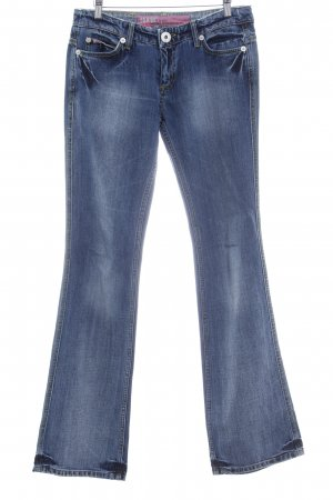 Mogul Boot Cut Jeans blau Casual-Look