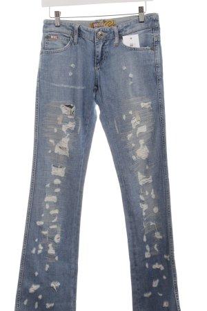Mogul Boot Cut Jeans azure urban style