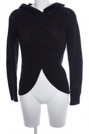 Mogul Coarse Knitted Jacket black casual look