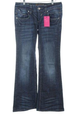 Mogul Hüftjeans dunkelblau Jeans-Optik