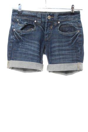Mogul Pantaloncino di jeans blu stile casual
