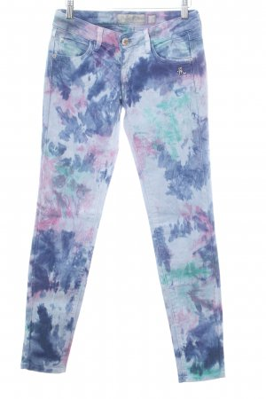 Mogul Tube Jeans abstract pattern casual look