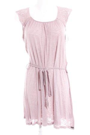 Mogul Shirtkleid roségoldfarben meliert Casual-Look