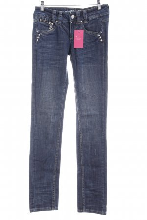 Mogul Straight-Leg Jeans dunkelblau Casual-Look