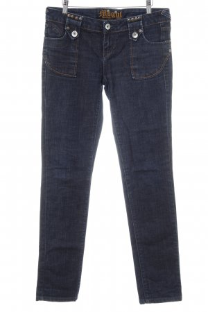 Mogul Straight-Leg Jeans mehrfarbig Washed-Optik