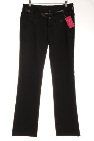 Mogul Straight-Leg Jeans schwarz Webmuster Casual-Look
