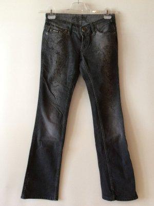 Mogul Stretch Jeans mit Druck Gr 26(34) neuwertig