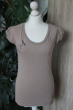 Mogul Camiseta beige-marrón claro