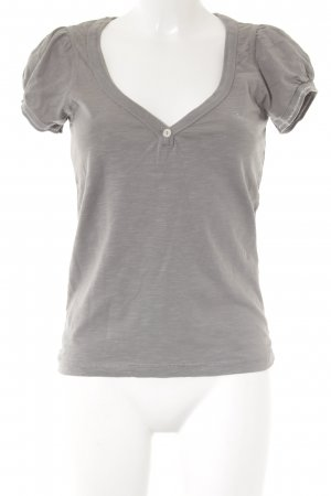 Mogul T-Shirt grau Motivdruck Casual-Look