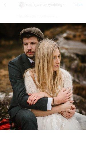 Mohair Braut Bolero - marryandbride - knitted couture