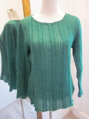 Mohair Pullover Tandem Grün Gr 38