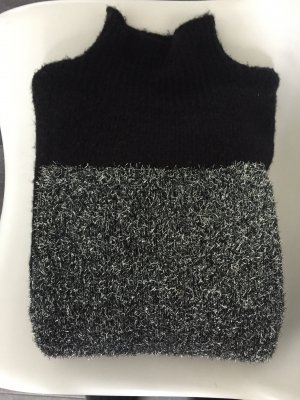 Vila Wool Sweater black-light grey mohair