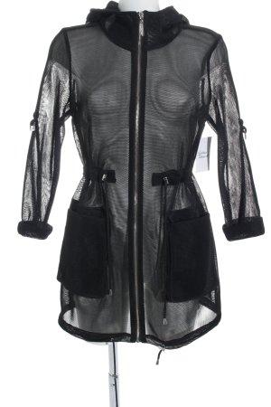 Mohito Übergangsmantel schwarz extravaganter Stil