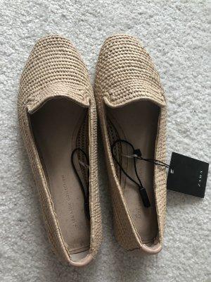 Zara Mocassino beige-crema