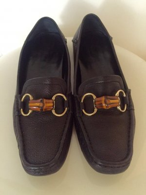 Gucci Moccasins black leather