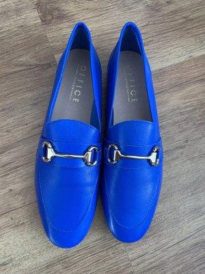 Office Foldable Ballet Flats neon blue