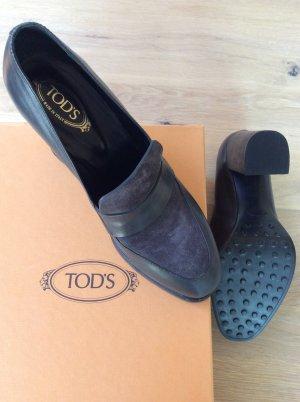 Tod's Mocassino grigio Pelle