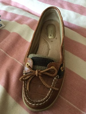 Sperry top-sider Mocassins brun-brun foncé