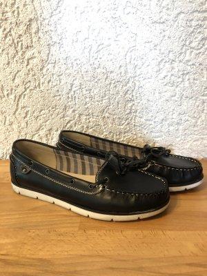 Mokassins in schwarz Gr.40