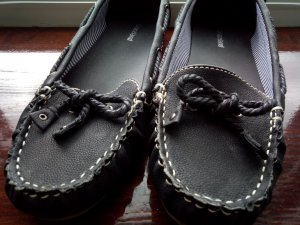 Graceland Mocasines blanco-negro