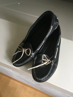 Blue Motion Moccasins dark blue