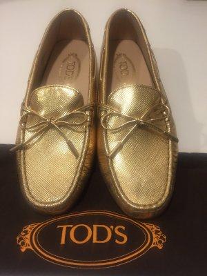 Tod's Mocassins doré