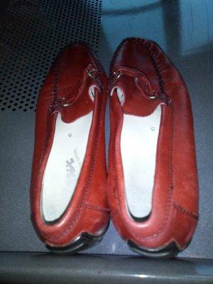 Mokkasins rote Größe 39