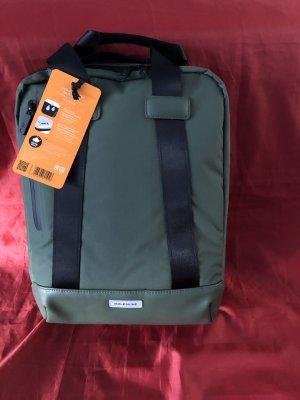 no name School Backpack forest green mixture fibre
