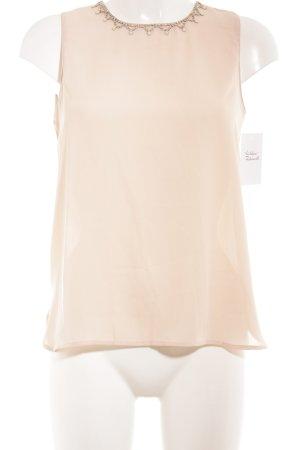 Molly bracken Blusa senza maniche rosa pallido elegante