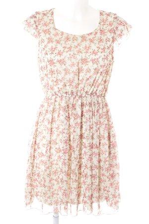 Molly bracken Vestido babydoll estampado floral estilo romántico