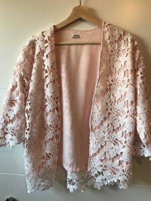 Molly bracken Blazer blanco-rosa
